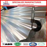Precio de aluminio de la hoja del cinc del material para techos acanalado