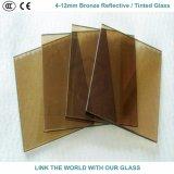vetro riflettente/tinto grigio di 5mm euro grigio & scuro con Ce & ISO9001 per la finestra di vetro