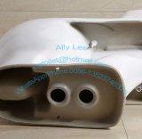 Toilette en céramique monopièce Jx-6# de lavage à grande eau