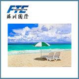 Parasoles de playa baratos y de la alta calidad promocionales del parasol de playa/de Adversting