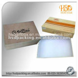 Caja de zapatos /Corrugated que dobla la caja de zapatos/la caja de zapato rígida