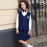 A annoncé le modèle élevé de robe d'uniforme scolaire de filles