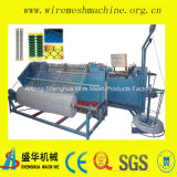가득 차있는 Automatic Fence 및 Diamond Mesh Machine