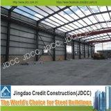 Abrigo del almacén del edificio del braguero del doble de la estructura de acero del bajo costo