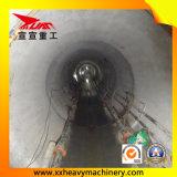 Aléseuse de tunnel pour l'oléoduc