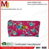 Classe elevada saco cosmético impresso do cetim 2015 (MJC-15050701)