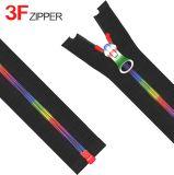 5# Teeth y Puller coloridos Individual Nylon Zipper