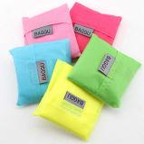 Bolsa do Tote do malote do saco de ombro do curso da compra de Eco que dobra o saco de mantimento reusável