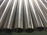 기름 모래 통제를 위한 40micron 슬롯 완벽한 Roundness 철사에 의하여 감싸이는 스크린