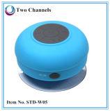 Altavoz impermeable de la ducha de Bluetooth 3.0 de la taza de la succión