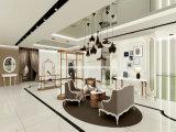 Spitzenkleid-Ausstellungsraum-Bildschirmanzeige, Innenarchitektur der Dame-Clothing Shop, Speicher-Bildschirmanzeige
