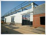 Oficina do aço estrutural com fabricante profissional