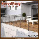 Pasamano barato del cable del acero inoxidable del SUS 304 para el Decking/la terraza/el balcón/el balaustre (SJ-S060)