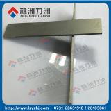 Tiras sinterizadas K10/K20 del carburo de tungsteno para las herramientas de corte