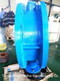 Form-Stahl-Flansch-Drosselventil ANSI-150lb mit Gang