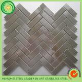 Декоративная нержавеющая сталь кроет мозаику черепицей от поставщика Кита