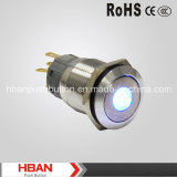 RoHS CE (19mm) DOT-Illumination Momentary LED Pushbutton Switches