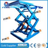 type de inclinaison hydraulique tables élévatrices des ciseaux 3ton
