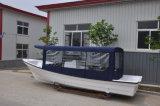 Liya 7.6m die de Glasvezel Hull van de Rib van de Cabine Boot Panga (SW760) vissen