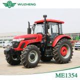 Trator agricultural chinês da roda 135HP de Waw grande 4