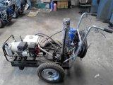 LM30 mano hidráulica Empuje Raya indicadora Máquina para pintura en frío,