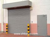 金属またはアルミニウム電気機密保護のオーバーヘッドガレージのローラーシャッター