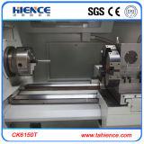 中国の工場棒送り装置Ck6150tが付いている最上質CNCの旋盤