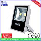 Ultra dünnes hohe Leistung PFEILER 100W LED Flut-Licht