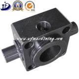Forja en caliente de piezas de acero al carbono con cilindro hidráulico Torno CNC