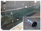 Edelstahl-Glasgeländer-Auslegung
