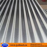 Tôle d'acier galvanisée ondulée de configuration d'onde
