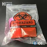 Sac de spécimen de Biohazard de marque de Ht-0724 Hiprove