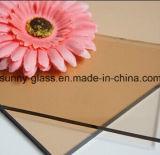 vidrio de flotador teñido alta calidad de 4-12m m con el certificado de ISO&CE