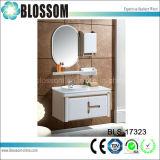 Unterschiedliche Farbe Belüftung-Badezimmer-Eitelkeit mit seitlichem Schrank (BLS-17323)