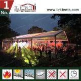 250-300の人結婚式および党のための炎のRetardntの明確なテント