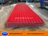 Hoja galvanizada color acanalado/cgi de la azotea del hierro