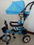 Dreirad des Baby-4 In1, Baby-Spaziergänger, 3 Rad-Baby-Dreiradkind-Dreirad