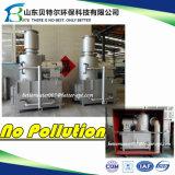 Incinerador pequeno do combustível de gás natural para o tratamento médico do lixo do hospital