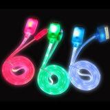 iPhone/のiPadまたはSamsung携帯電話のための3ft LED Flashing USB Cable