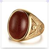 Anillo de la manera de la joyería de las mujeres de la joyería del acero inoxidable (SR339)