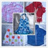 Tissu utilisé mélangé par été, vêtements utilisés par vêtement utilisés à vendre