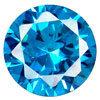 宝石類の設定のための素晴らしく青い立方ジルコニアの宝石用原石
