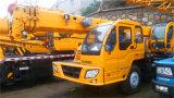 Tipo superior XCMG guindaste hidráulico do caminhão de 12 toneladas