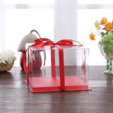 OEM caixa de dobramento eco-friendly caixa de plástico pastel de alimentos (caixa de animais)