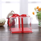 eco-friendly 명확한 접히는 패킹 음식 상자 플라스틱 케이크 상자 (애완 동물 상자)