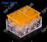 Conetor elétrico do bloco terminal com 4-Conductor