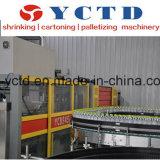 Máquina mineralizada inteiramente automática da película de embalagem do PE da água (YCTD-YCBS130)