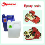 Epoxy requintado desobstruído Crystal Epoxy Resin para Healthy Shoes