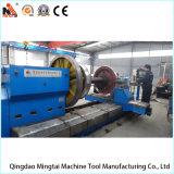 長い車輪のタービン機械化のための大きい水平CNCの旋盤(CK61160)
