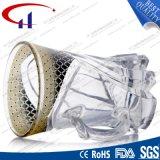 130ml vendem por atacado o copo de vidro desobstruído para o café (CHM8153)